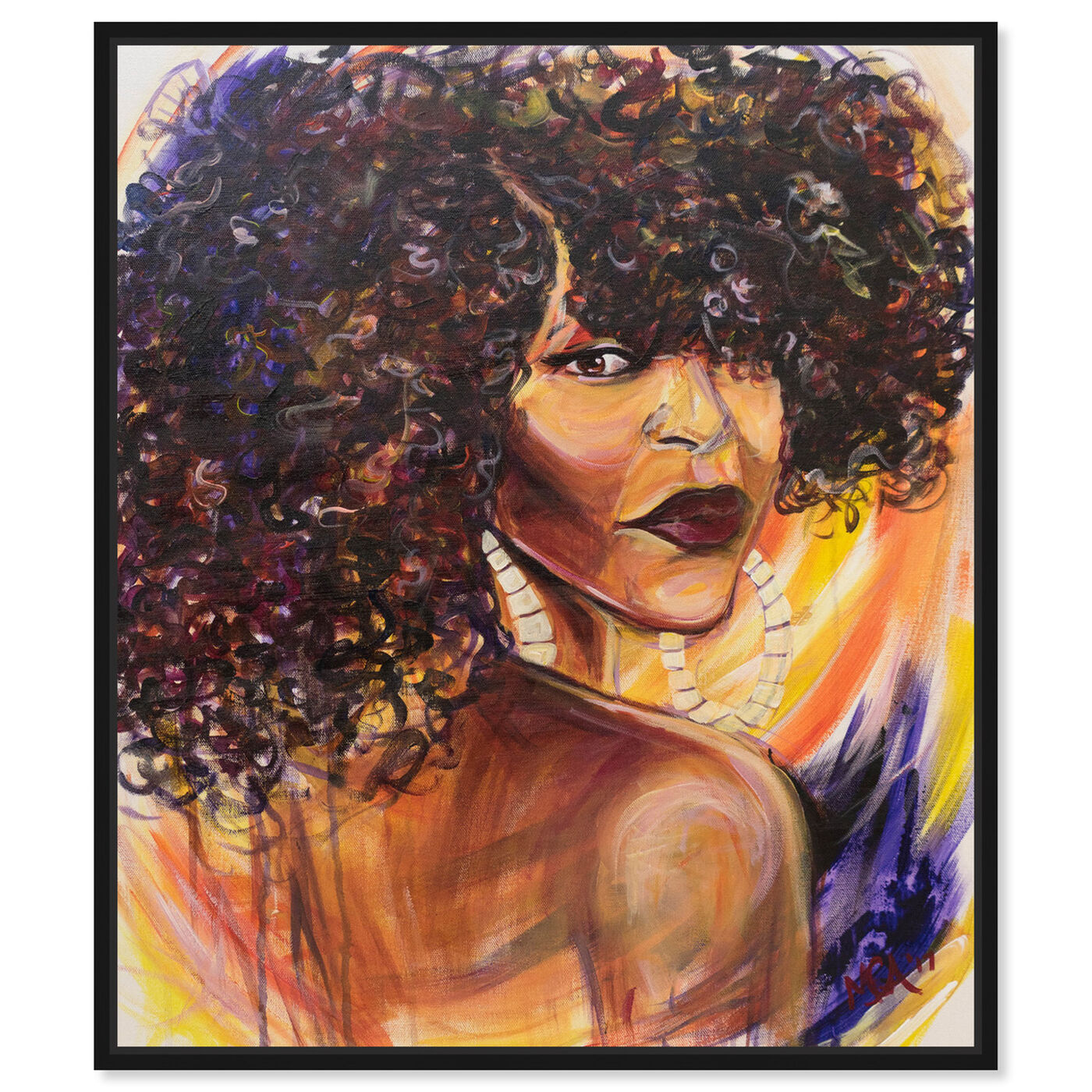 Front view of Marissa Anderson - Phenomenal Woman featuring fashion and glam and portraits art.