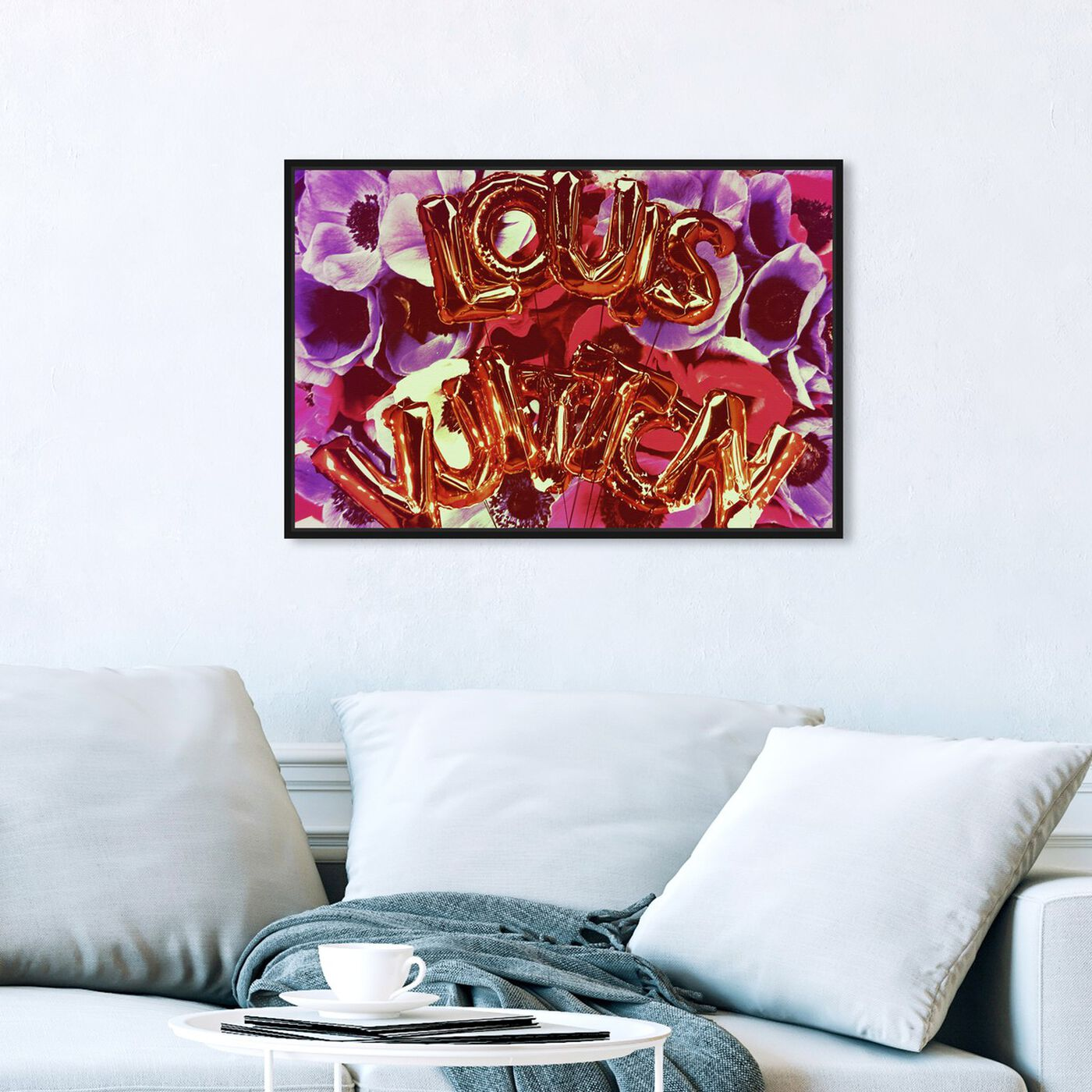 Hanging view of Balloon Candy featuring fashion and glam and lifestyle art.