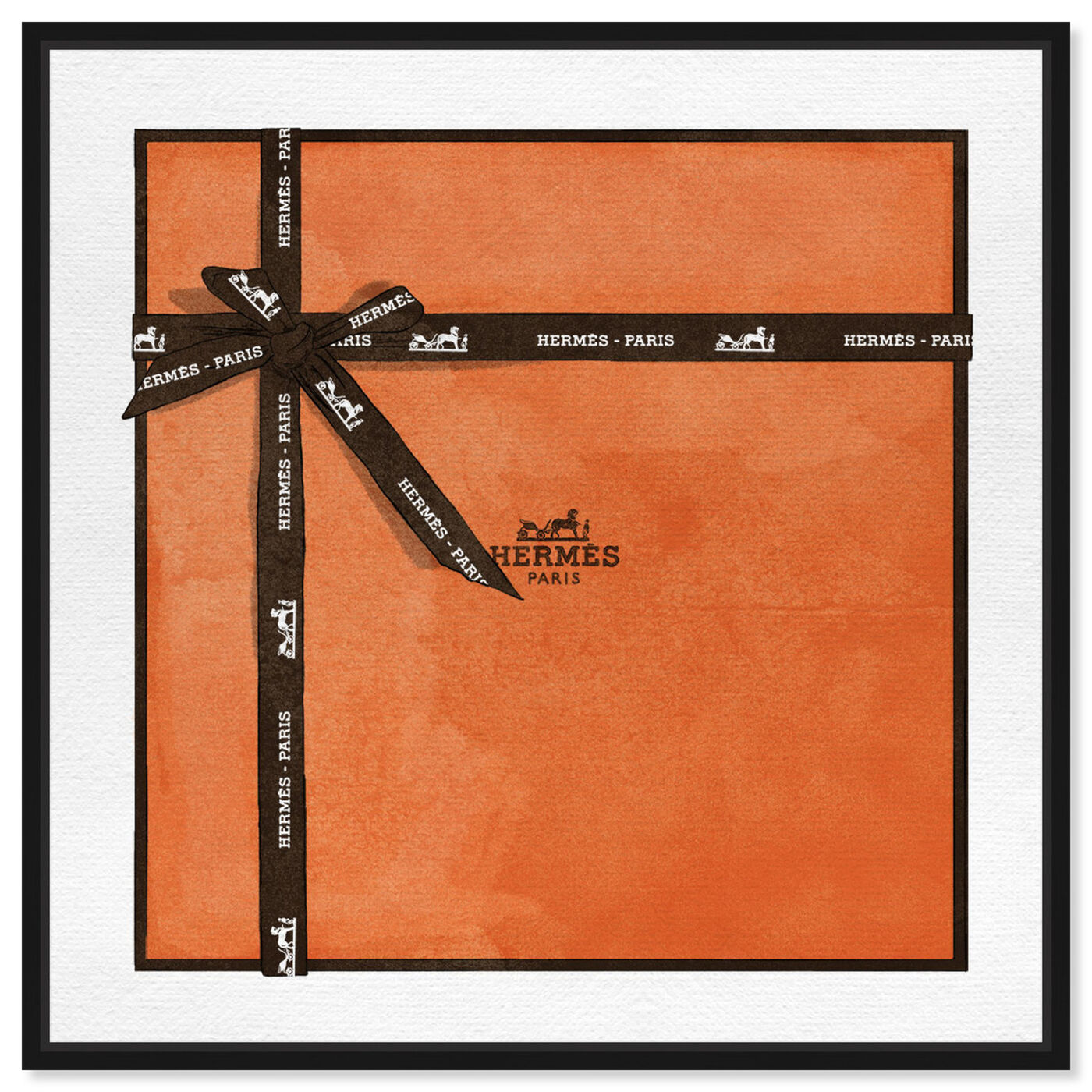 Front view of Perfect Orange Gift featuring fashion and glam and lifestyle art.