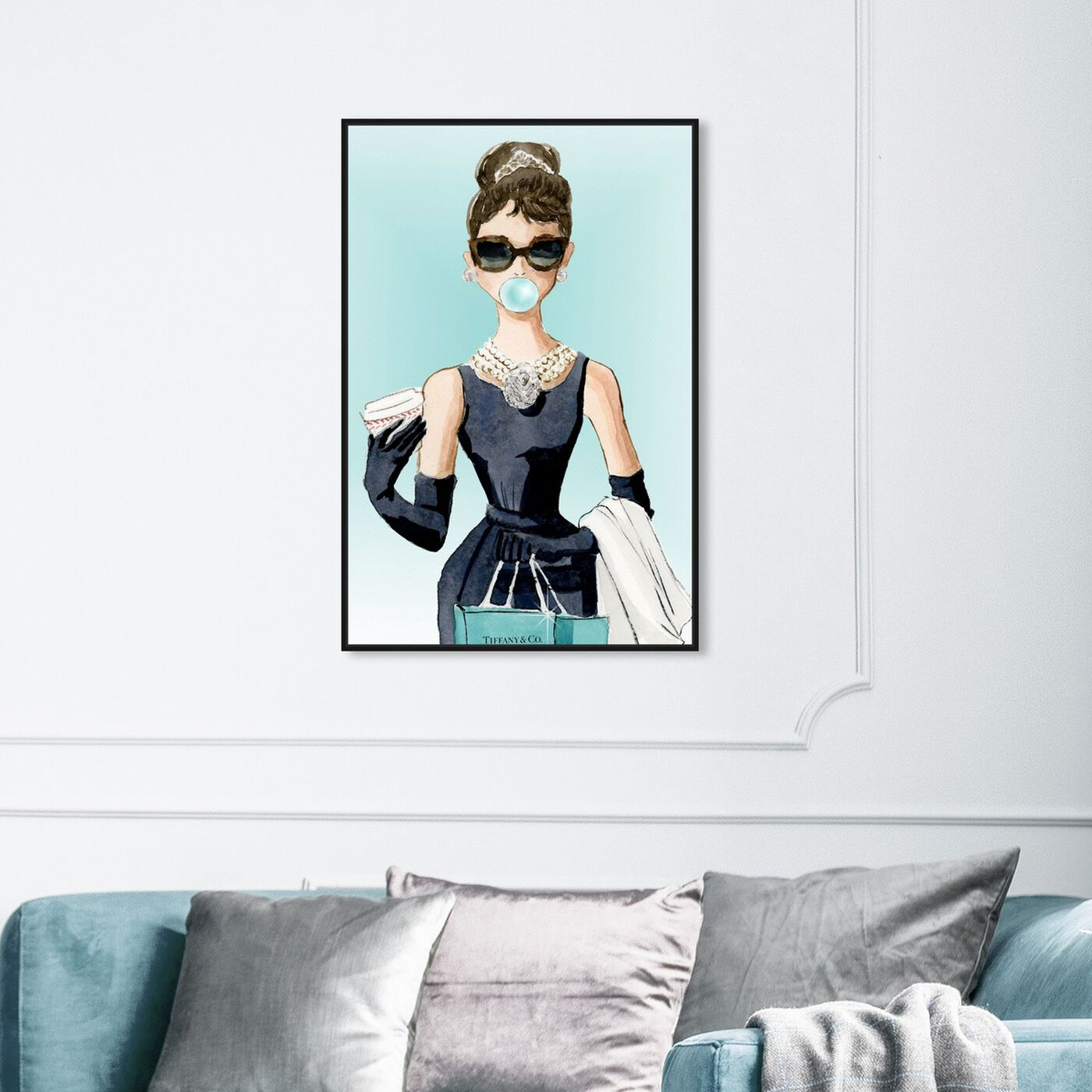 Hanging view of Bubble Gum Jewelry featuring people and portraits and celebrities art.