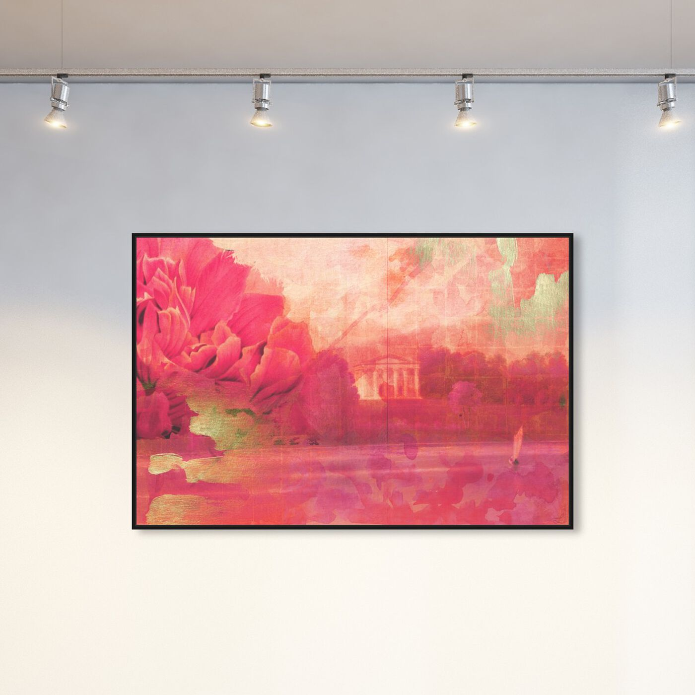 Hanging view of Amorio featuring floral and botanical and gardens art.