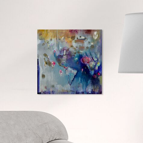 All the Places I Can't Forget by Michaela Nessim Canvas Art