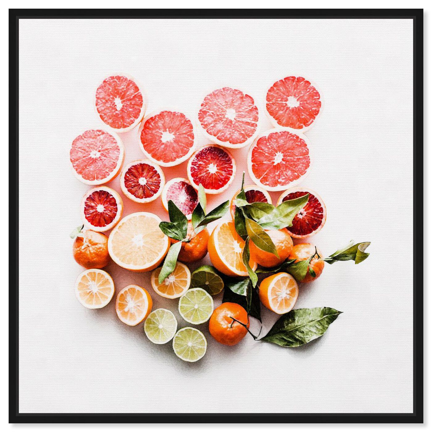Front view of Citrus Love featuring food and cuisine and fruits art.