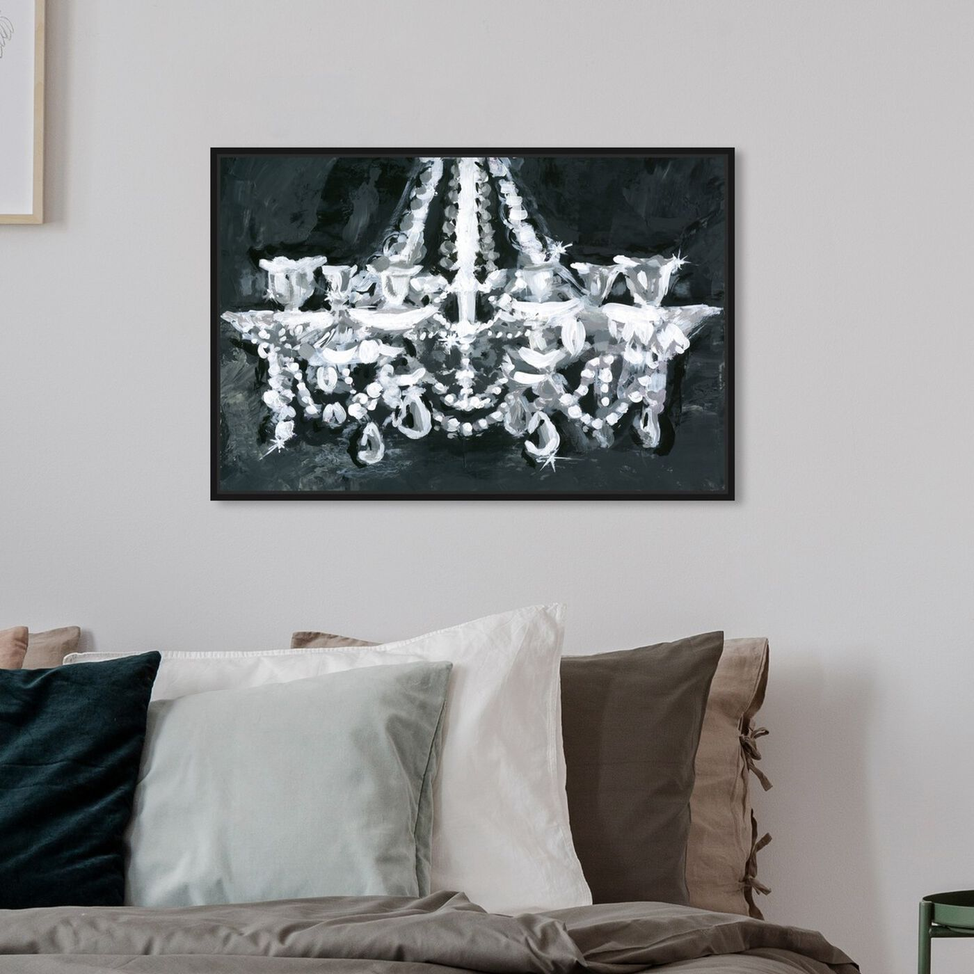 Hanging view of BW Candelabro featuring fashion and glam and chandeliers art.