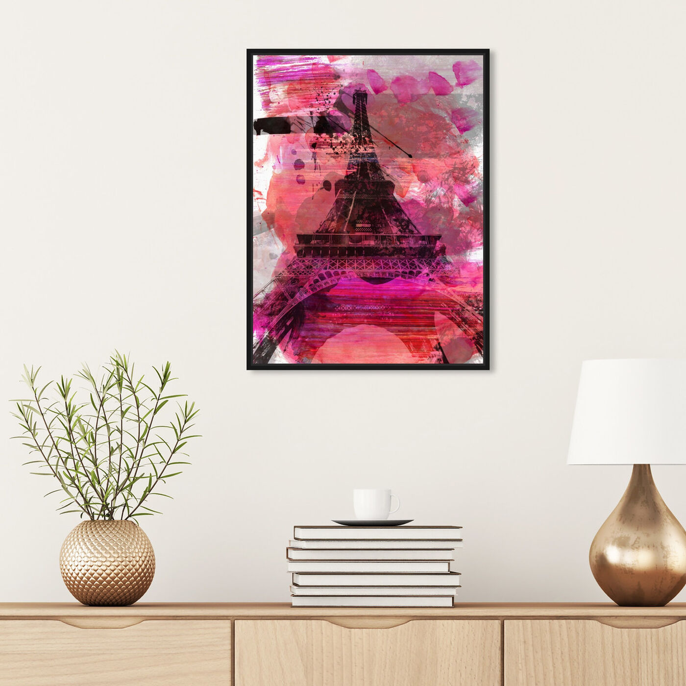 Hanging view of Wild Paris featuring cities and skylines and european cities art.
