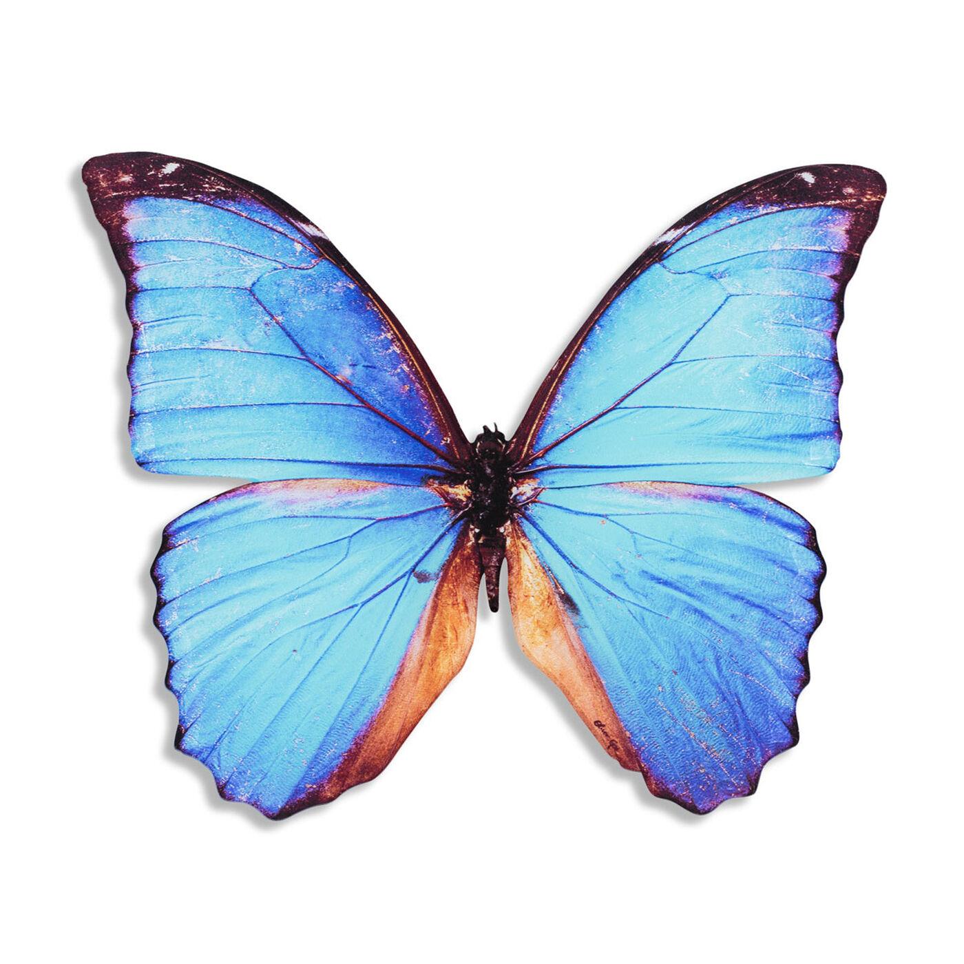 Butterfly Cyan DieCut