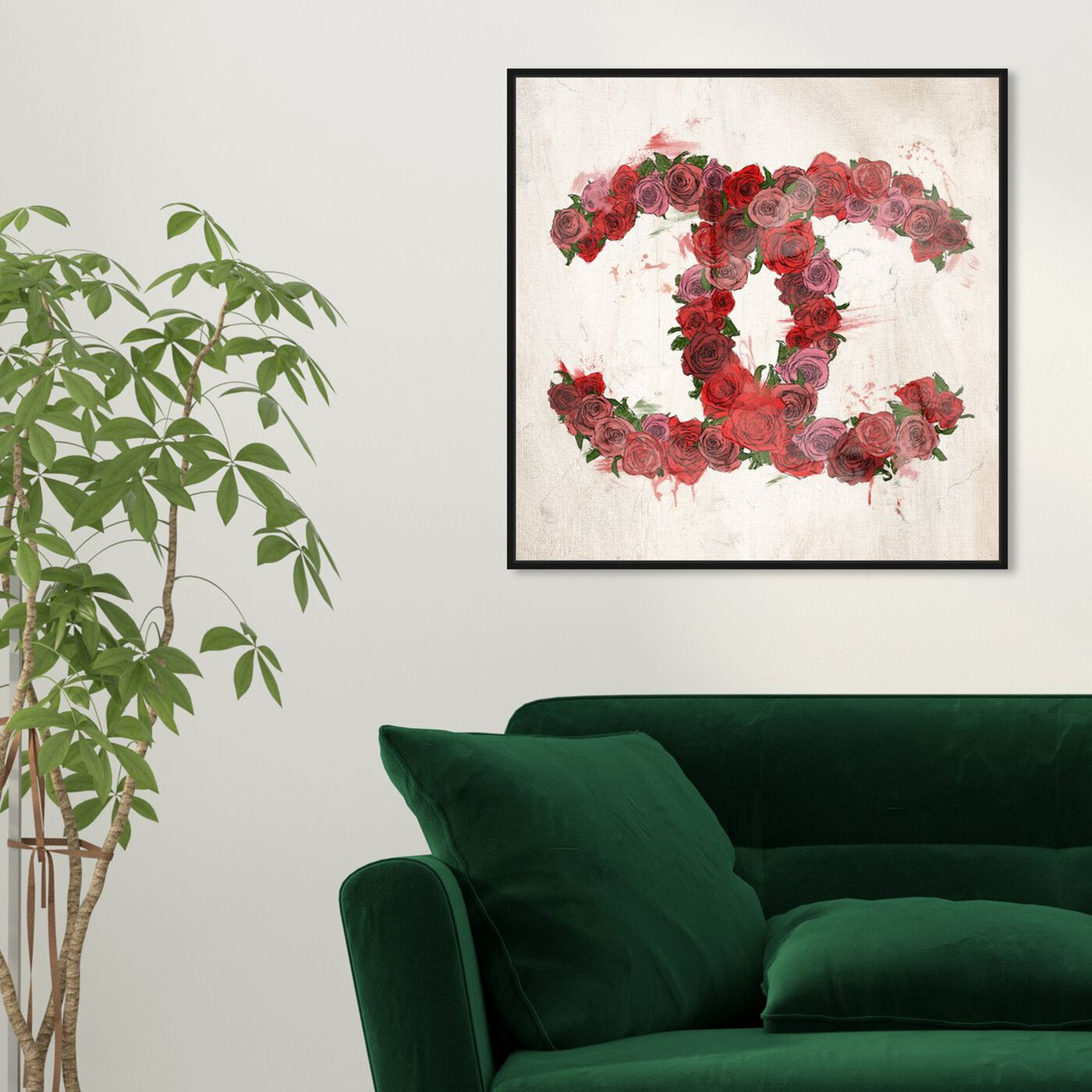 Hanging view of Love Roses  featuring fashion and glam and fashion art.
