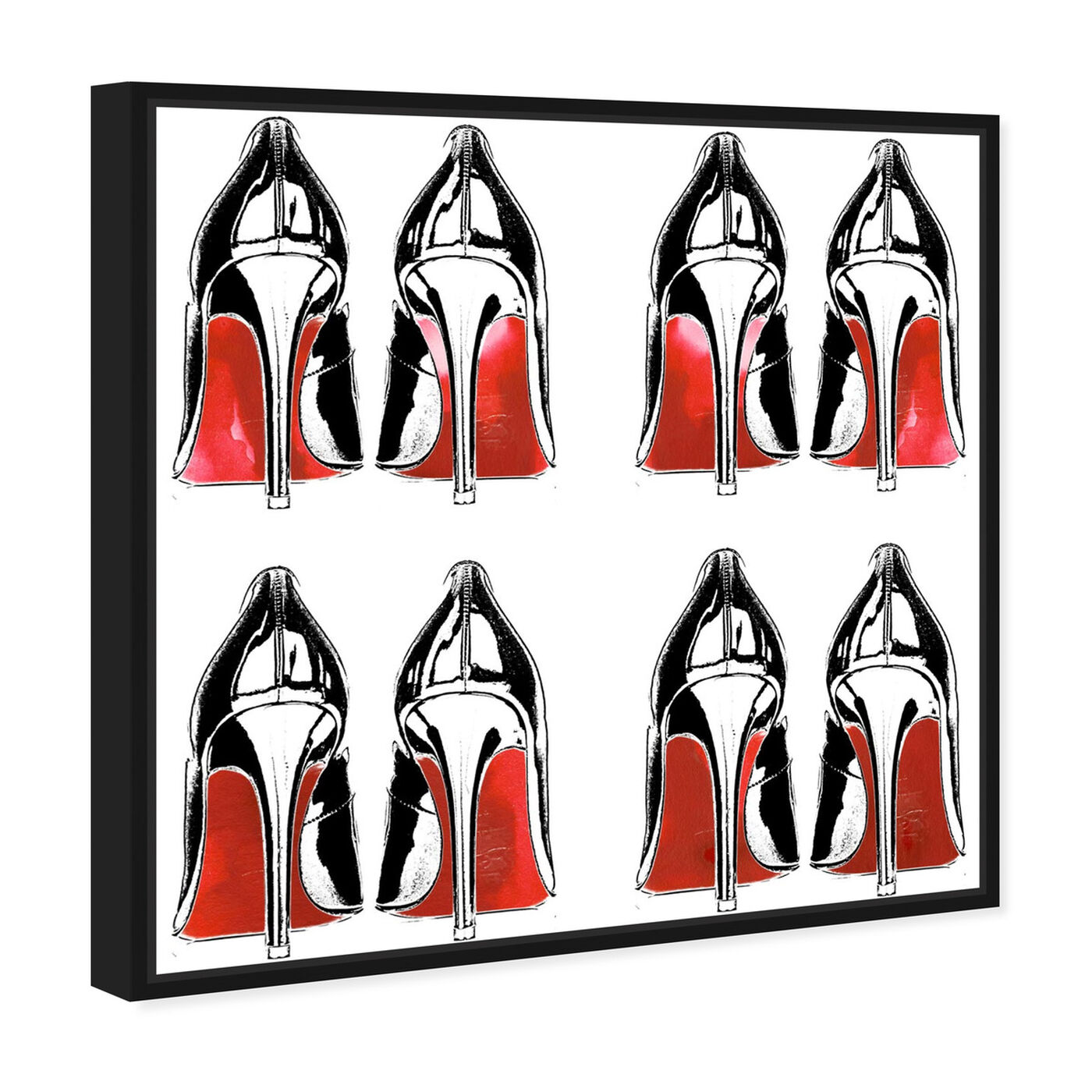Angled view of Stilettos II featuring fashion and glam and shoes art.