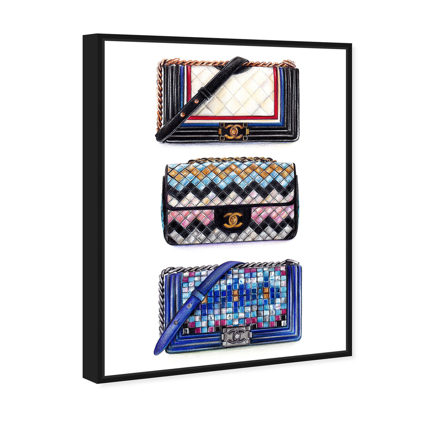 Angled view of Doll Memories - Le Resort Collection featuring fashion and glam and handbags art.