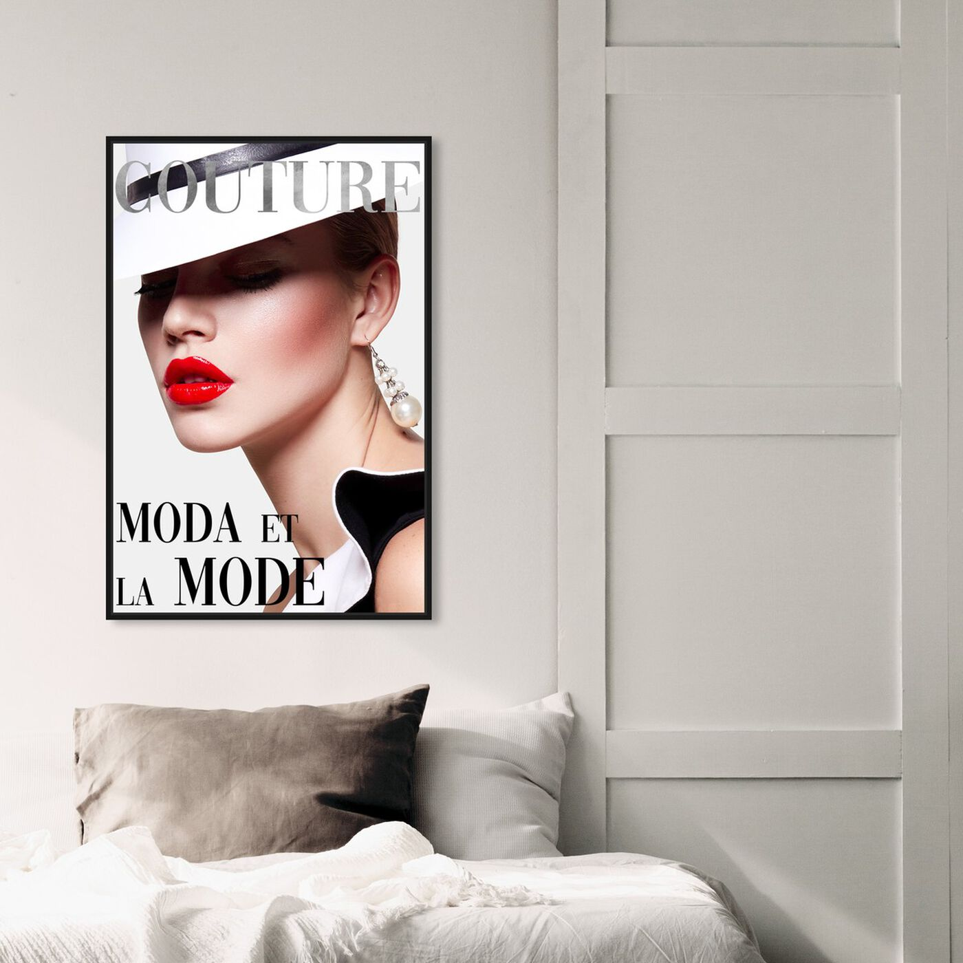 Hanging view of Cover Fashion Couture III featuring fashion and glam and makeup art.