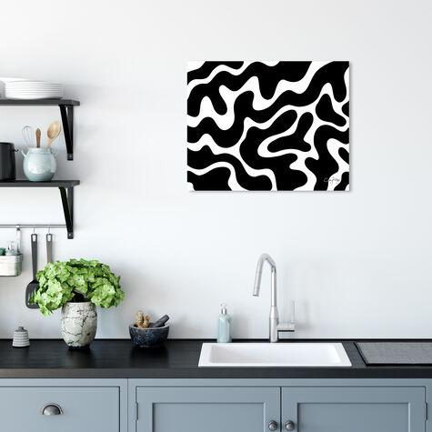 Corey Paige - Black & White Abstract