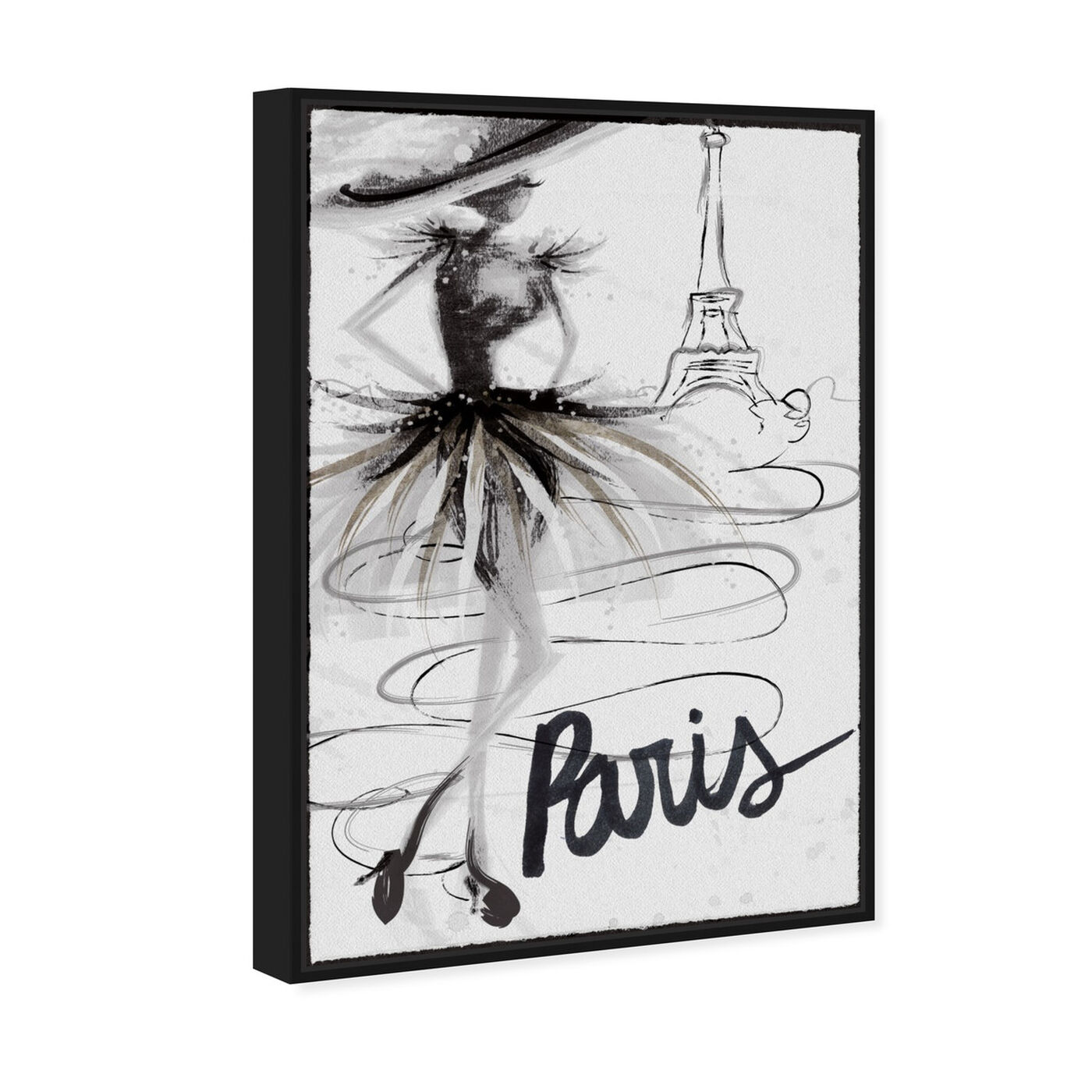 Angled view of Fashion Doll Paris featuring fashion and glam and sketches art.