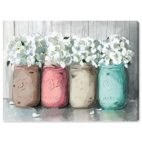 Mason Jar Turquoise