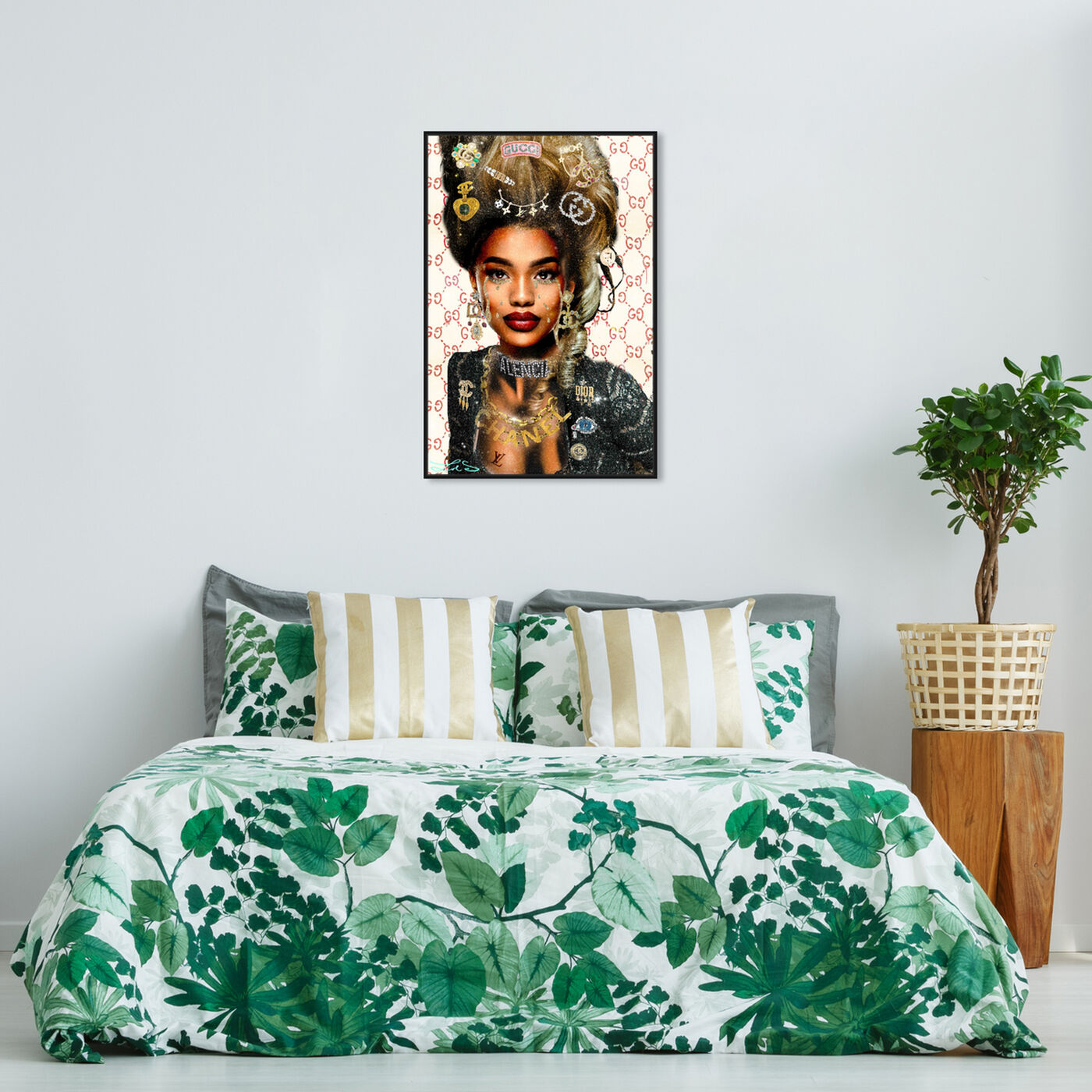 Hanging view of Real Queen of Everything featuring fashion and glam and fashion lifestyle art.