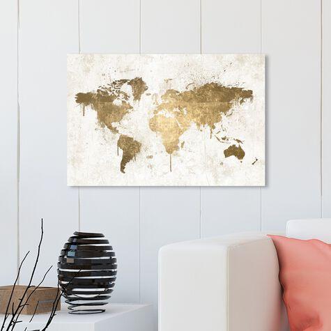 Mapamundi White Gold