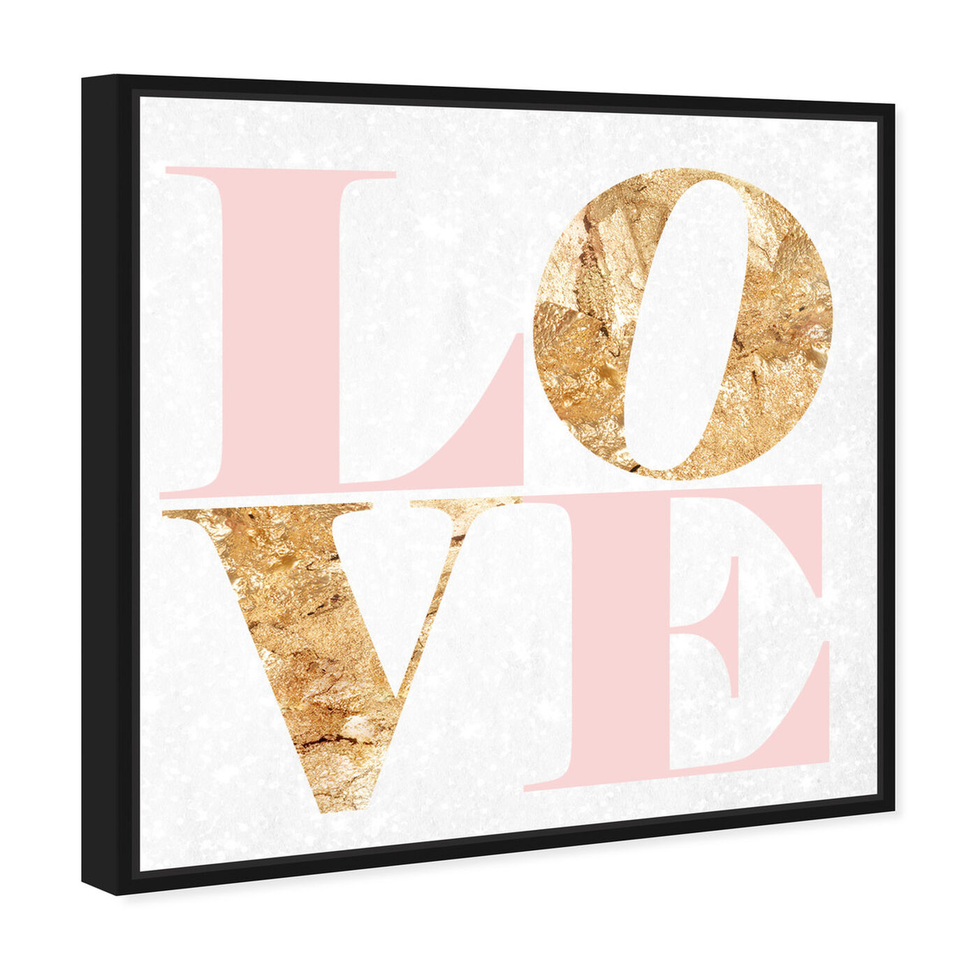 Angled view of Build On Love Romance featuring typography and quotes and love quotes and sayings art.