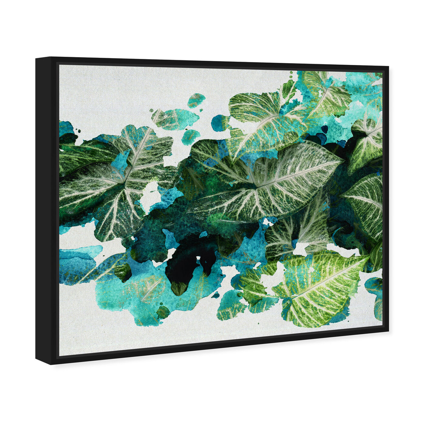 Angled view of Natura featuring floral and botanical and botanicals art.