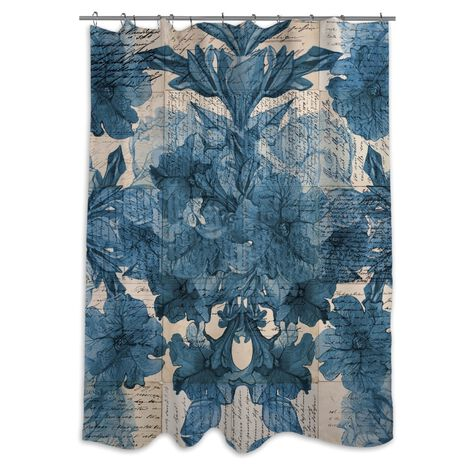 Lost Love Letters Shower Curtain