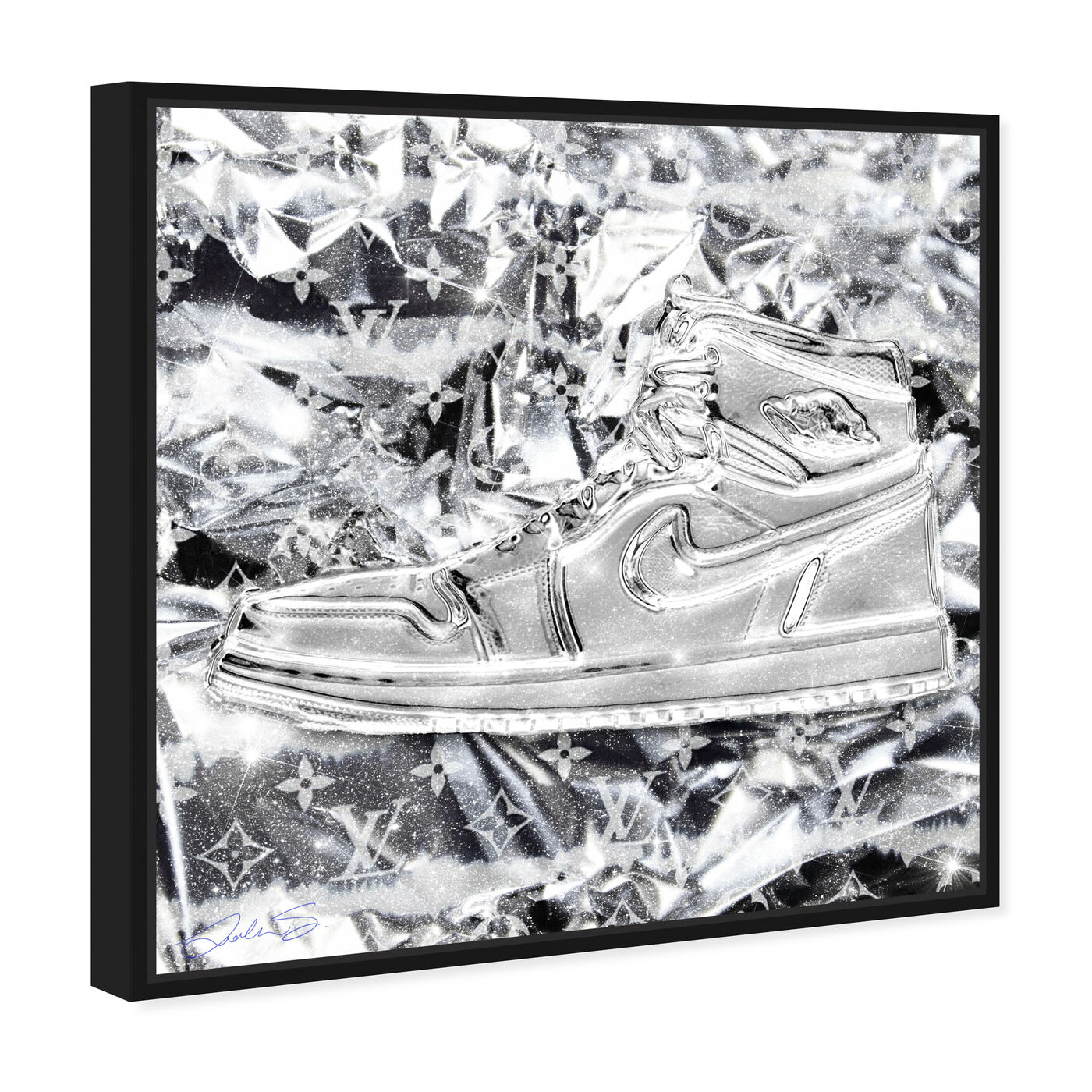 Angled view of Ice Ice Air featuring fashion and glam and shoes art.