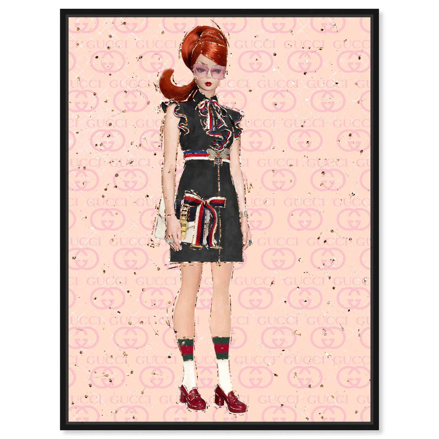 Front view of She's All That featuring fashion and glam and dolls art.