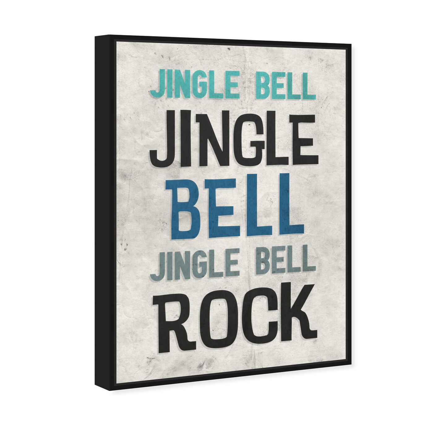 Angled view of Jingle Bell Rock featuring holiday and seasonal and holidays art.
