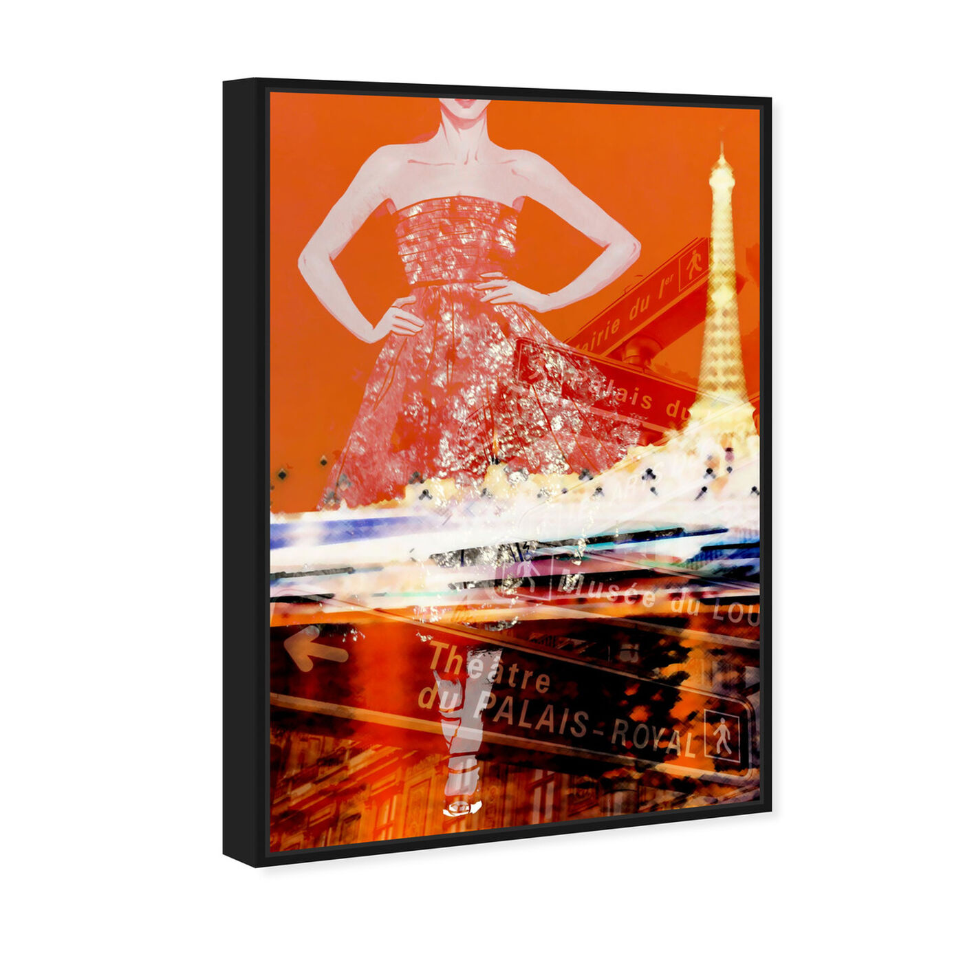 Angled view of Paris Is My Runway featuring fashion and glam and dress art.