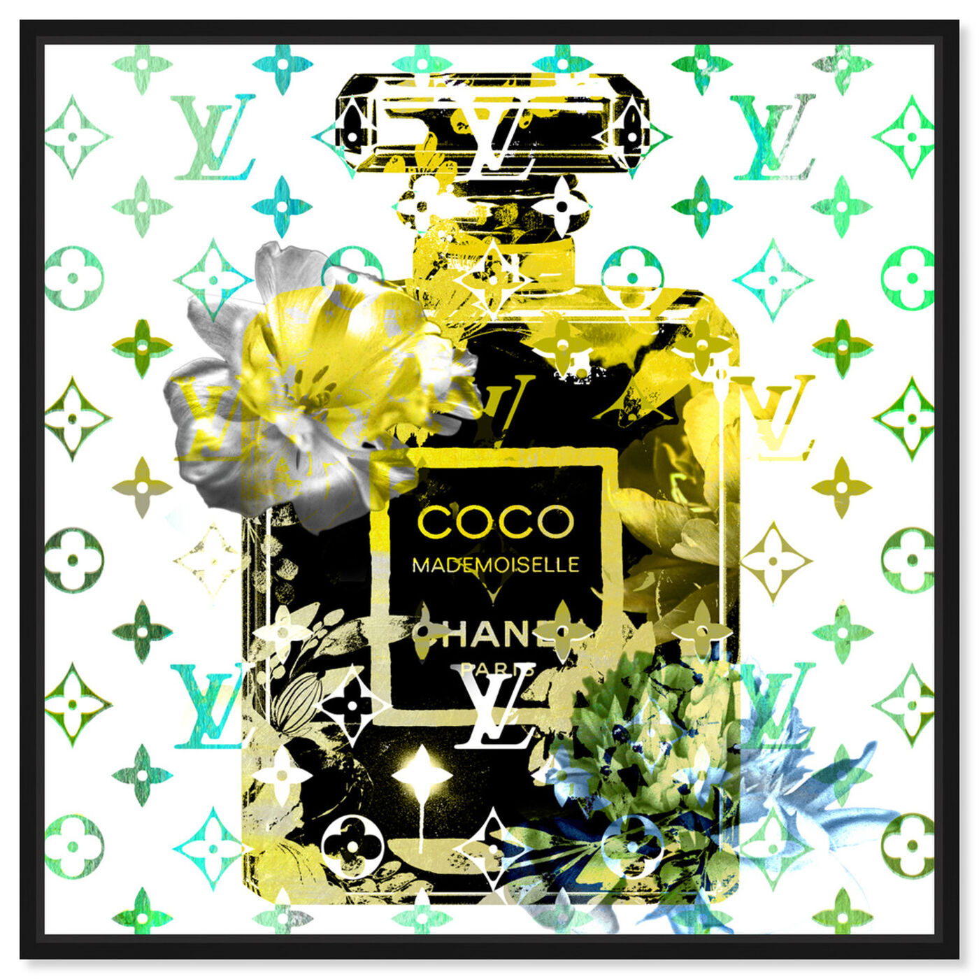 Front view of Coco Blinded Love Lime featuring fashion and glam and perfumes art.