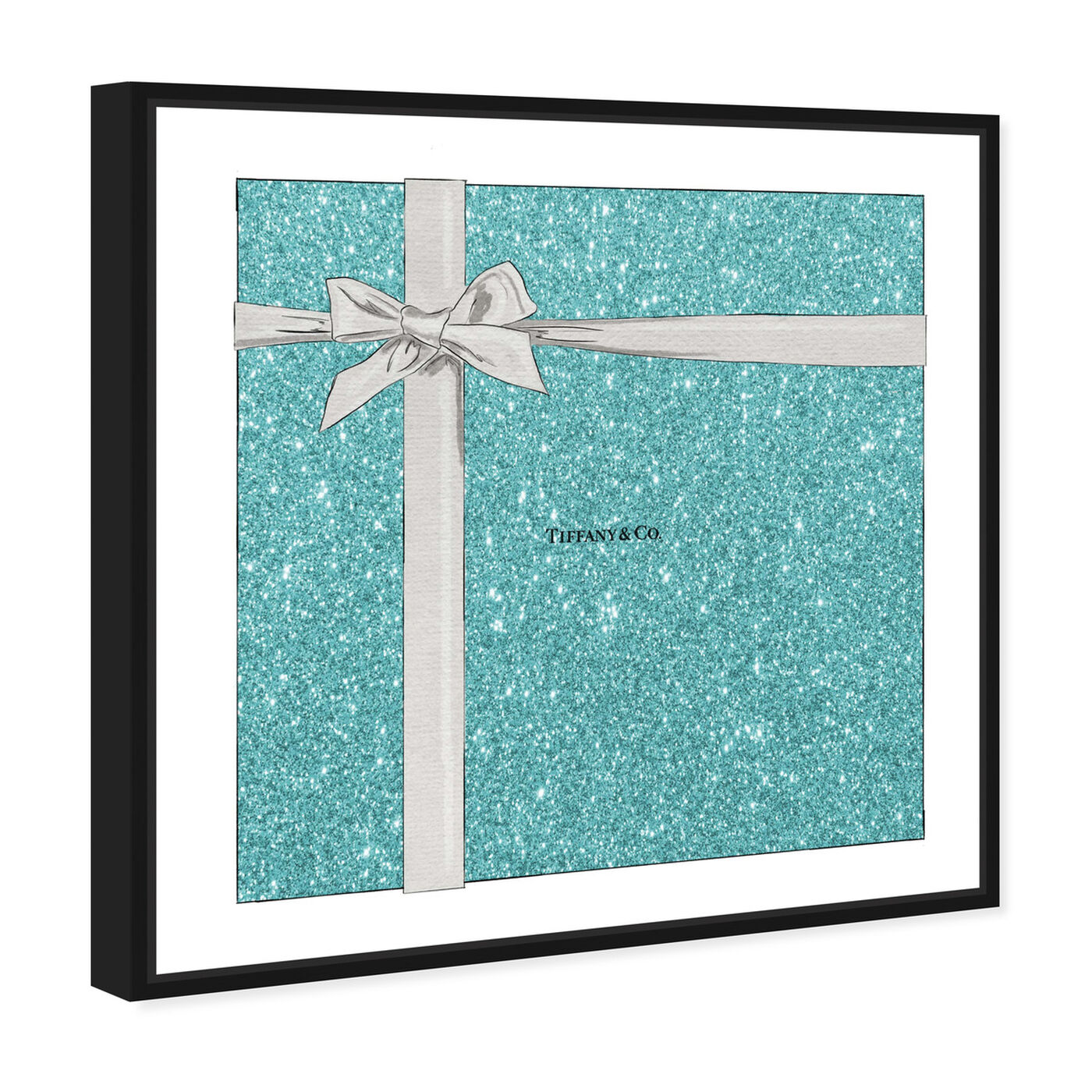 Angled view of Jewelry Gift Box Sparkle featuring fashion and glam and fashion art.