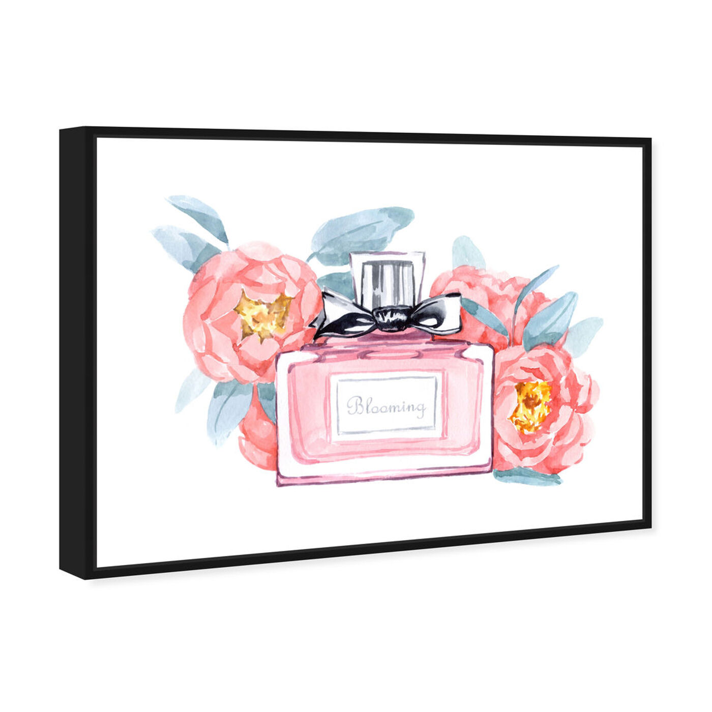 Angled view of Spring Aroma featuring fashion and glam and perfumes art.