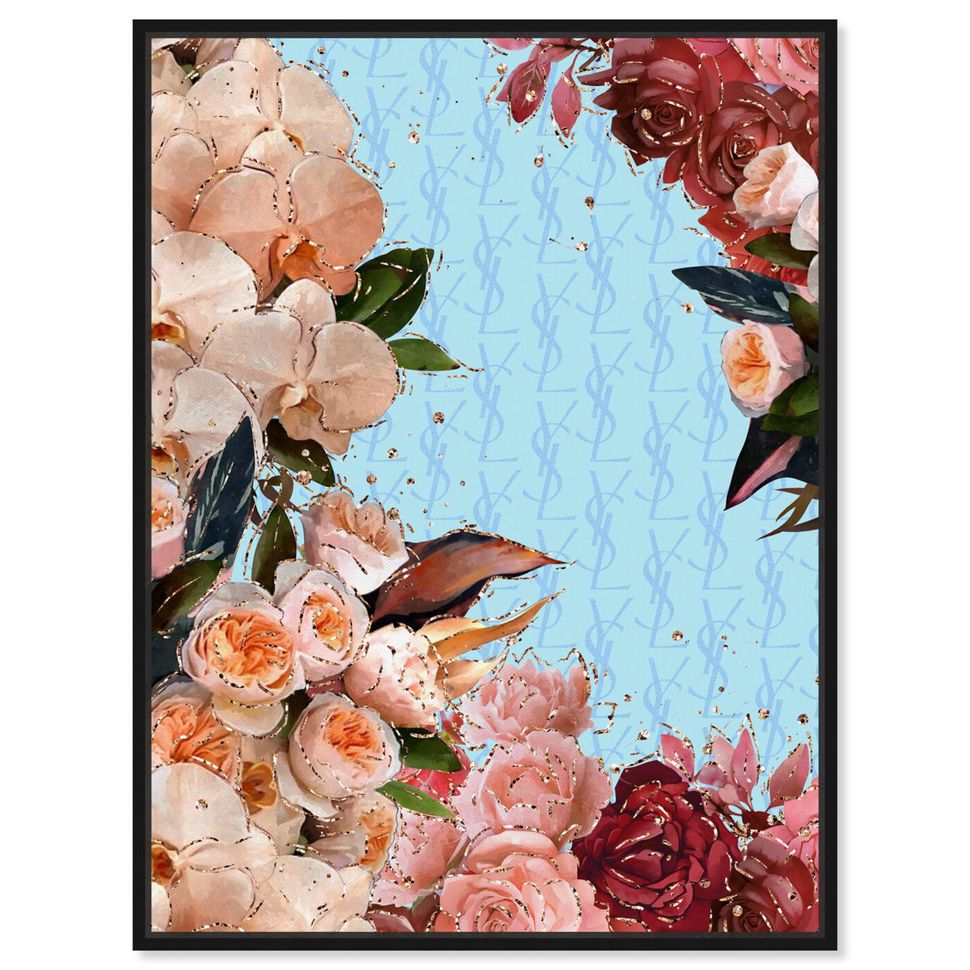 Front view of Classic Floral Fashion featuring floral and botanical and florals art.