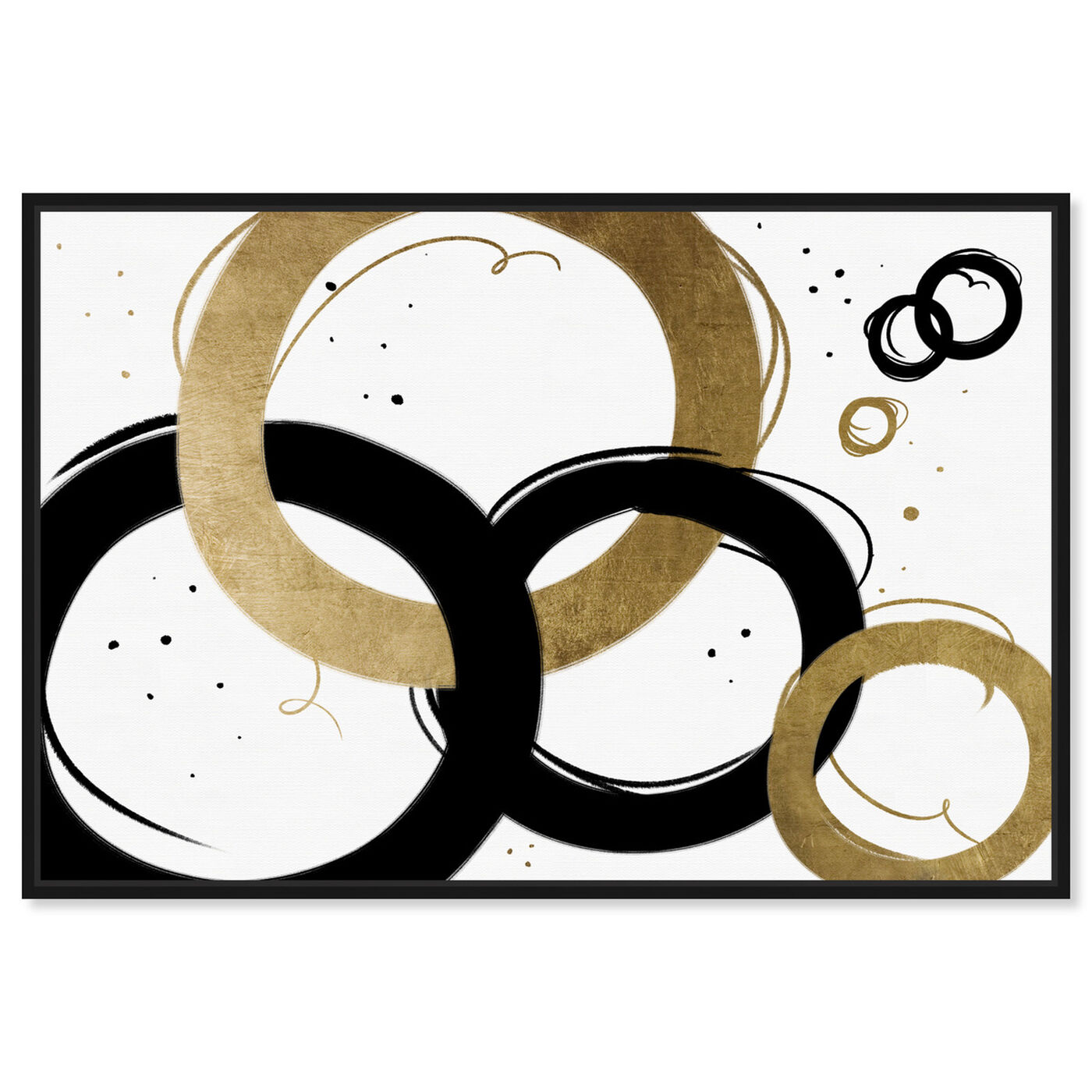 Front view of Infinite Circles featuring abstract and geometric art.
