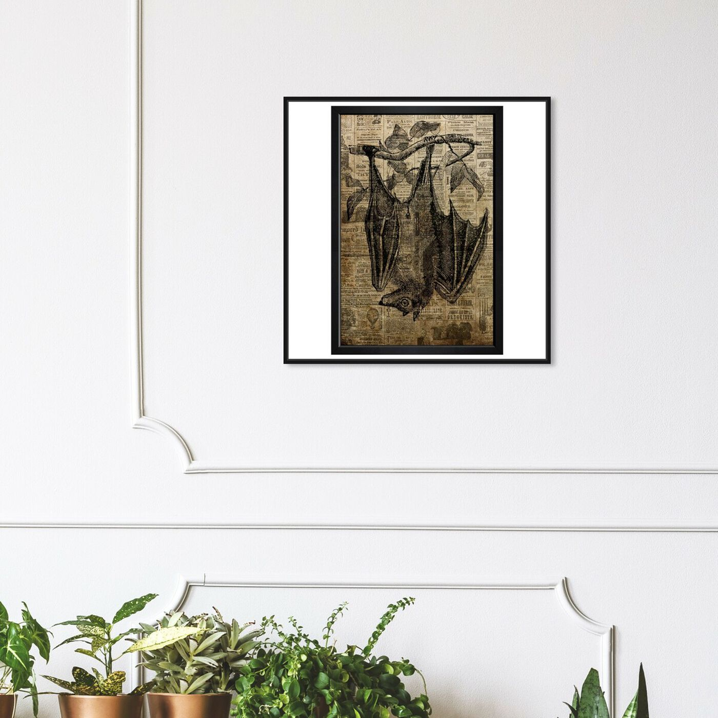 Hanging view of Hang In There featuring fantasy and sci-fi and fantasy creatures art.