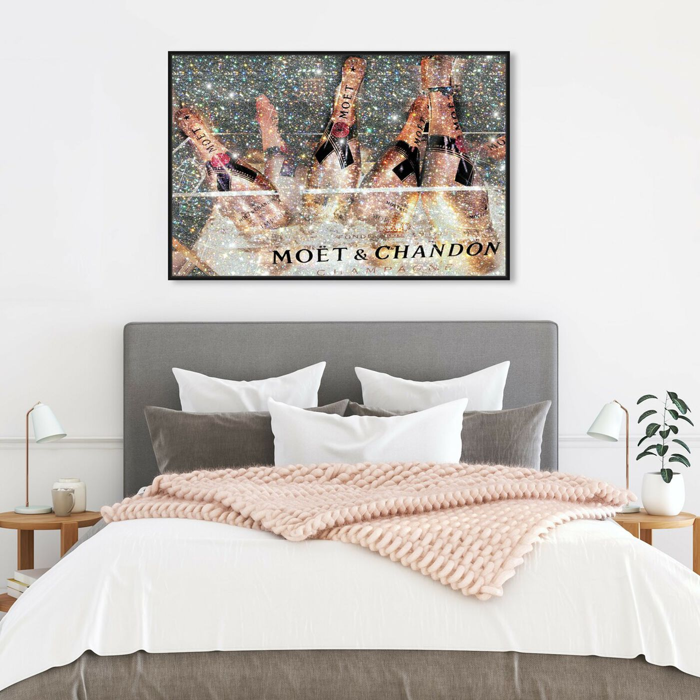 Hanging view of The French Bubbly featuring fashion and glam and lifestyle art.