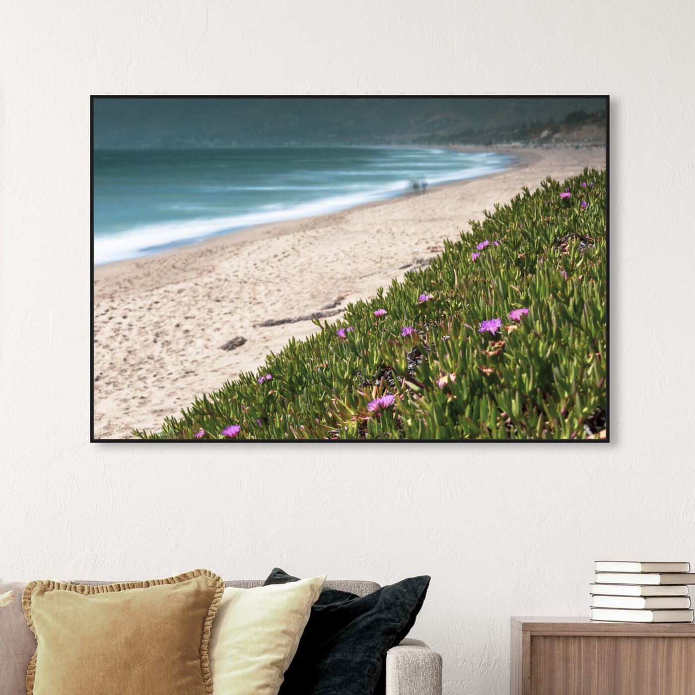 Hanging view of Curro Cardenal - Coastal Flowers featuring nautical and coastal and coastal art.