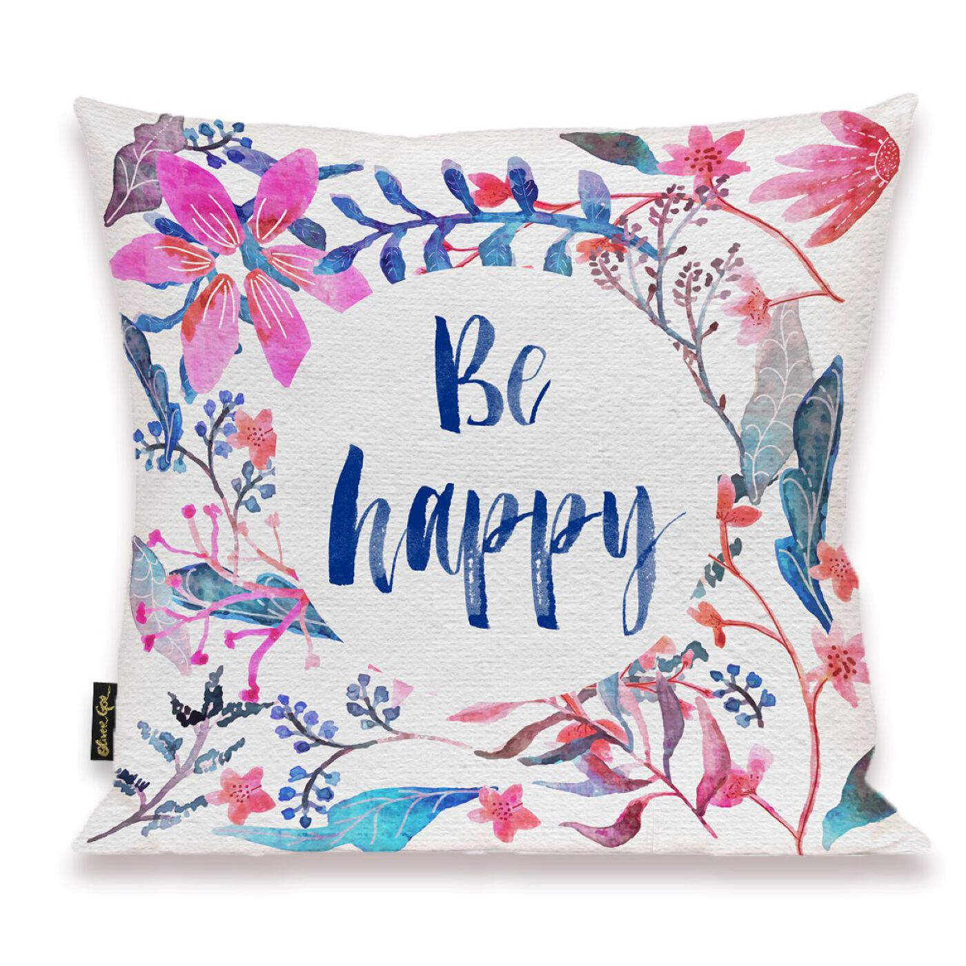Colorful Happy Pillow