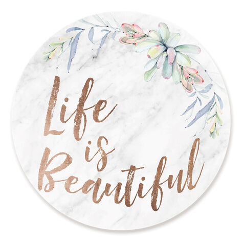 Life Is Beautiful Floral