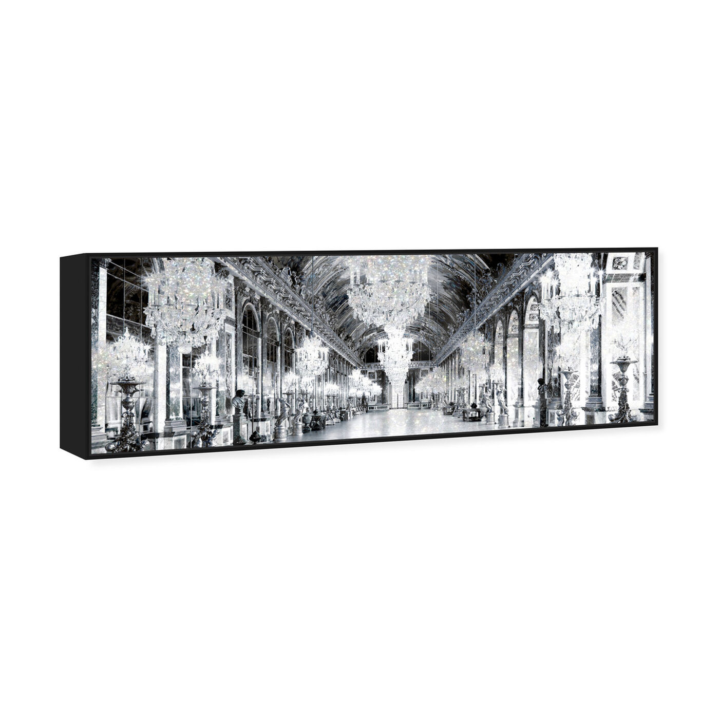 Angled view of Barroque Mirrors featuring architecture and buildings and structures art.