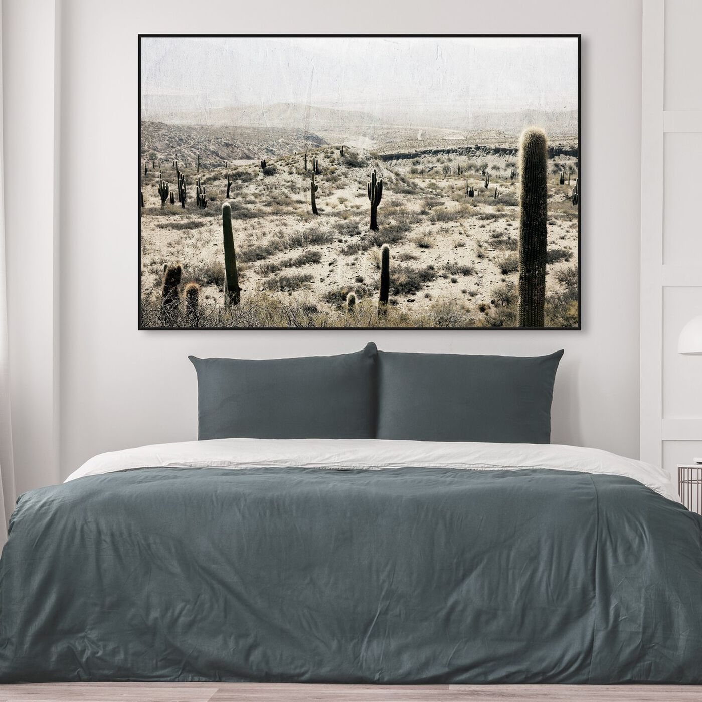 Hanging view of Down South featuring nature and landscape and desert landscapes art.