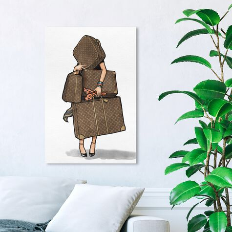 Bags, Bags, Bags- Orange I