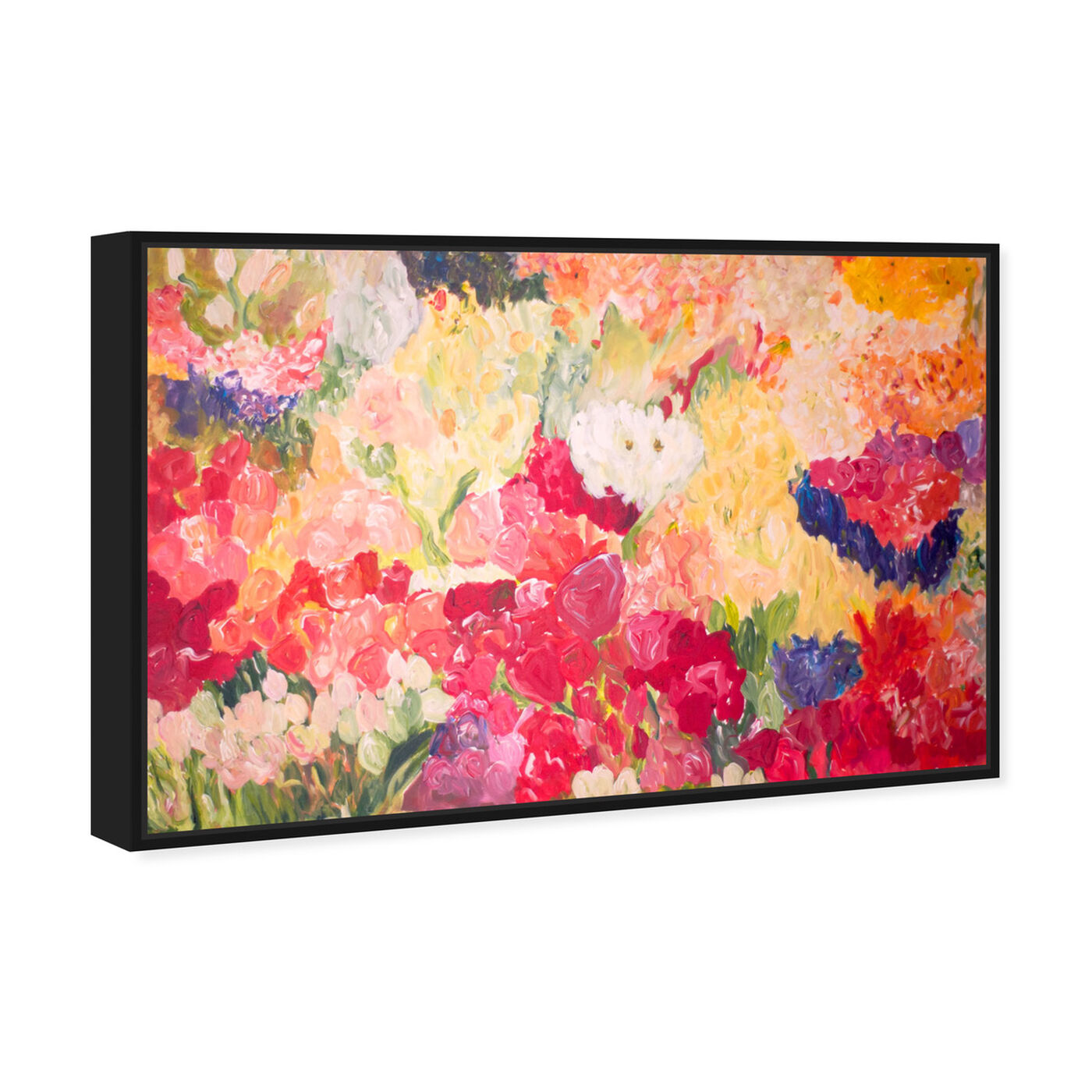 Angled view of Tuppence a Bunch by Claire Sower featuring floral and botanical and gardens art.