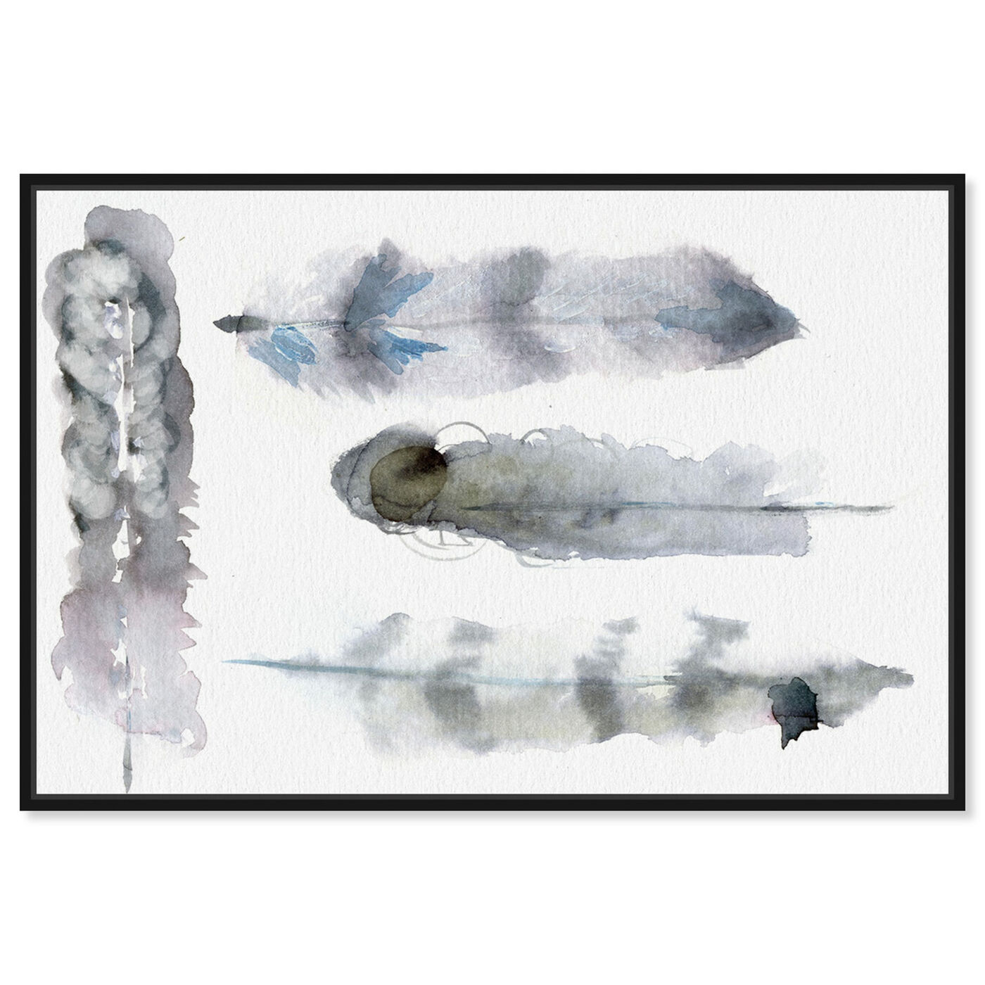 Front view of Plumes - Signature Collection featuring fashion and glam and feathers art.