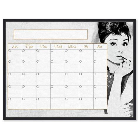 Beautiful Woman Monthly Calendar