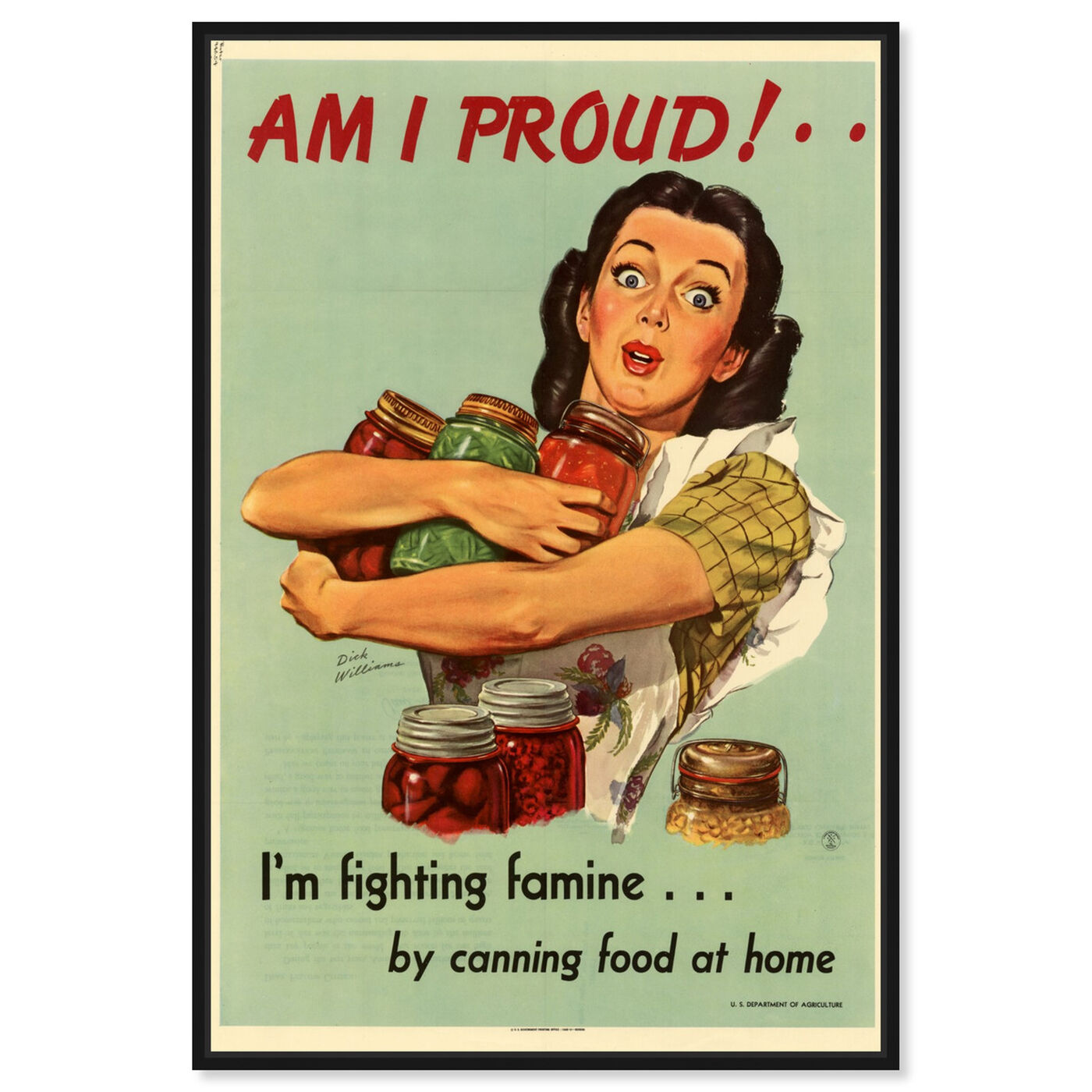 Front view of I Am Proud featuring advertising and posters art.