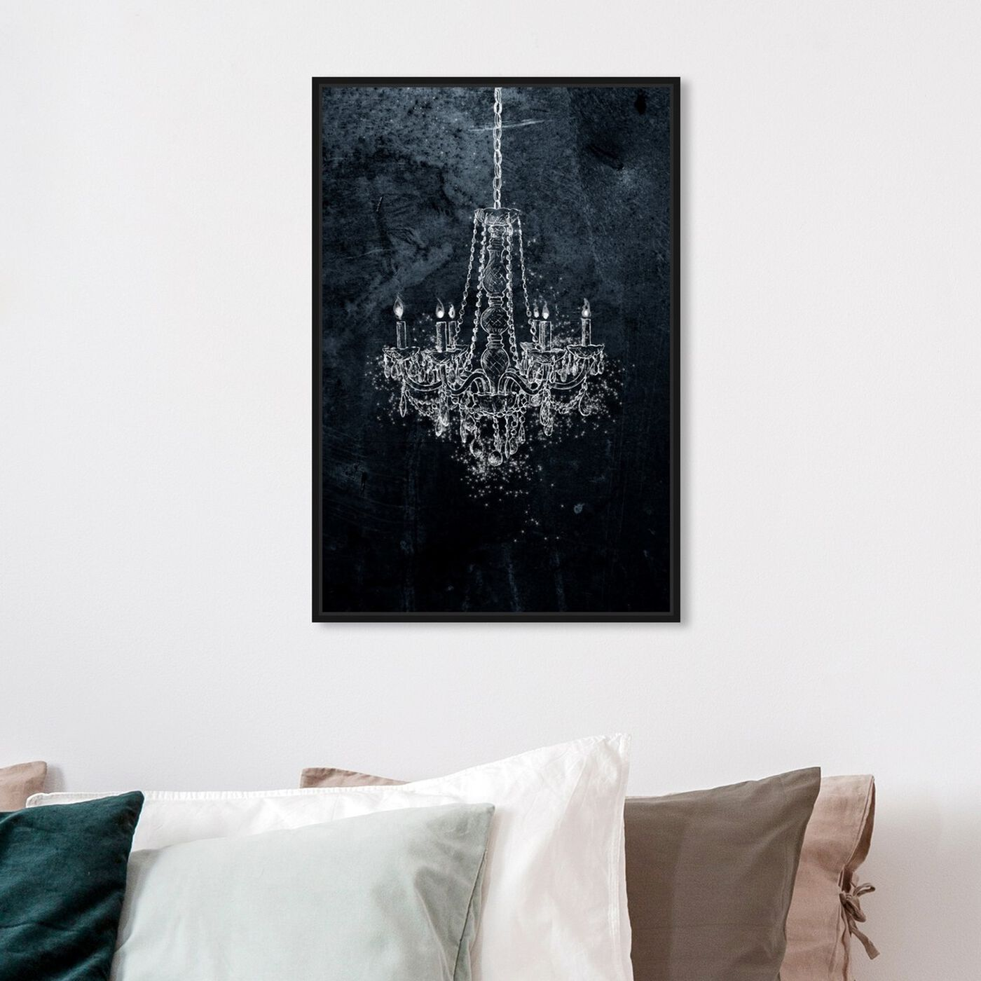 Hanging view of Silver Dream featuring classic and figurative and french décor art.