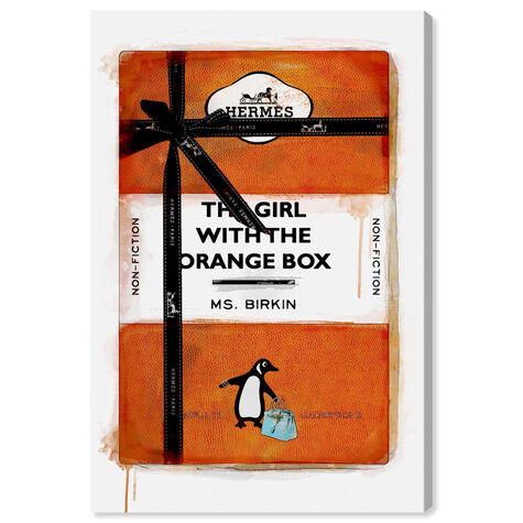 The Girl with the Orange Box