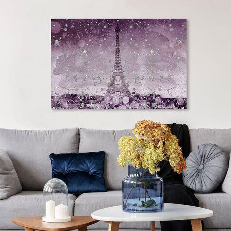 Eiffel Glitter Plum