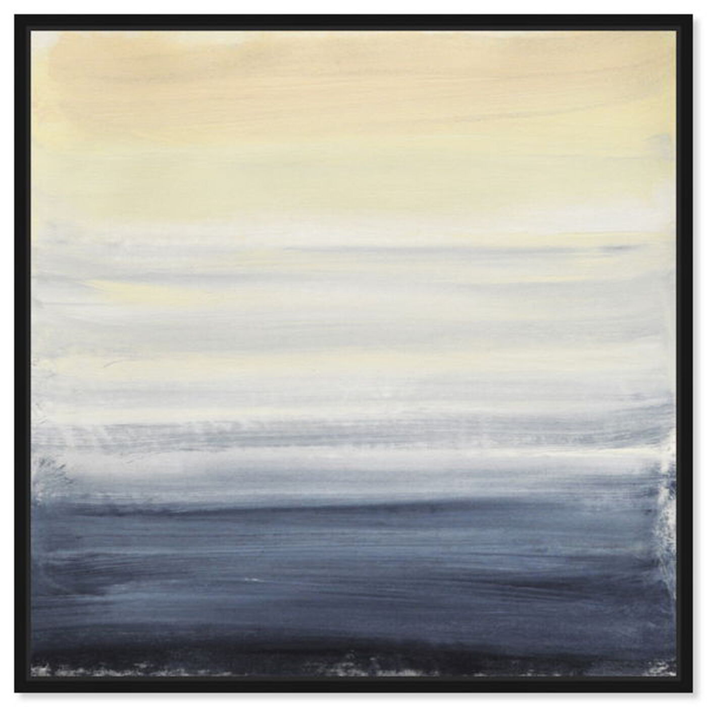Front view of Sea Fog featuring abstract and paint art.