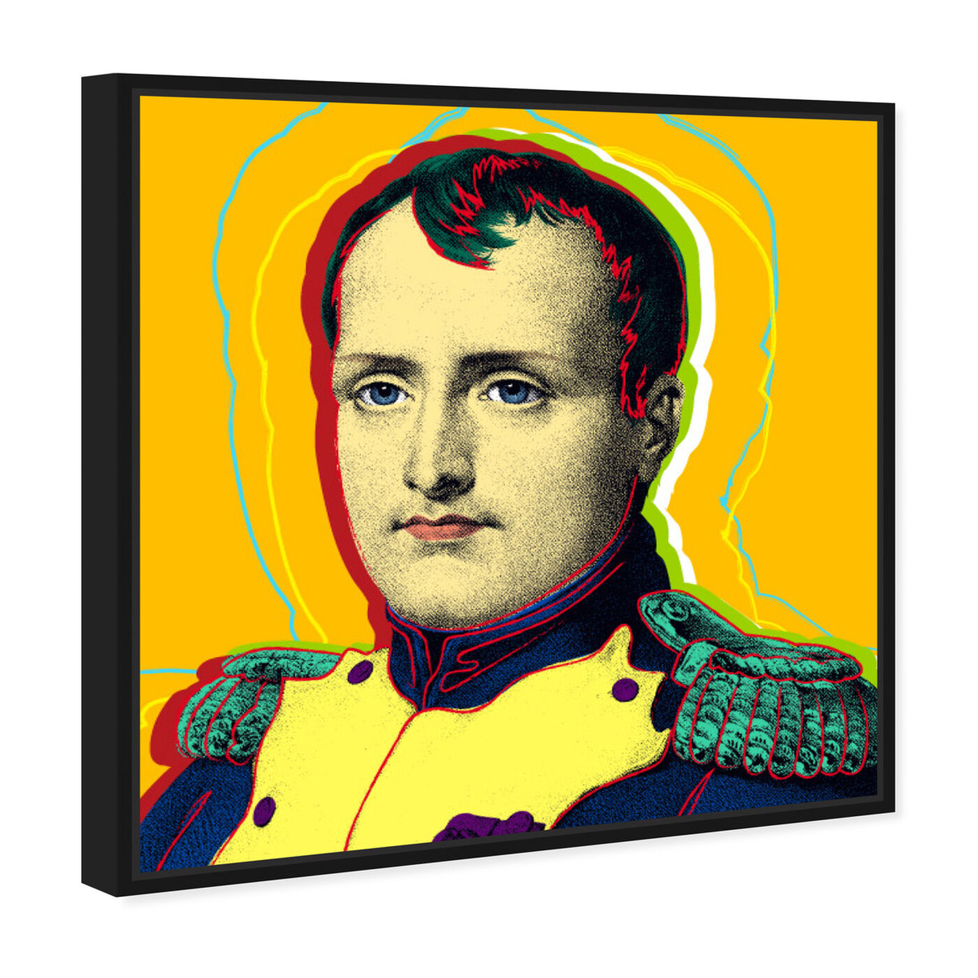 Angled view of Napoleon featuring people and portraits and celebrities art.