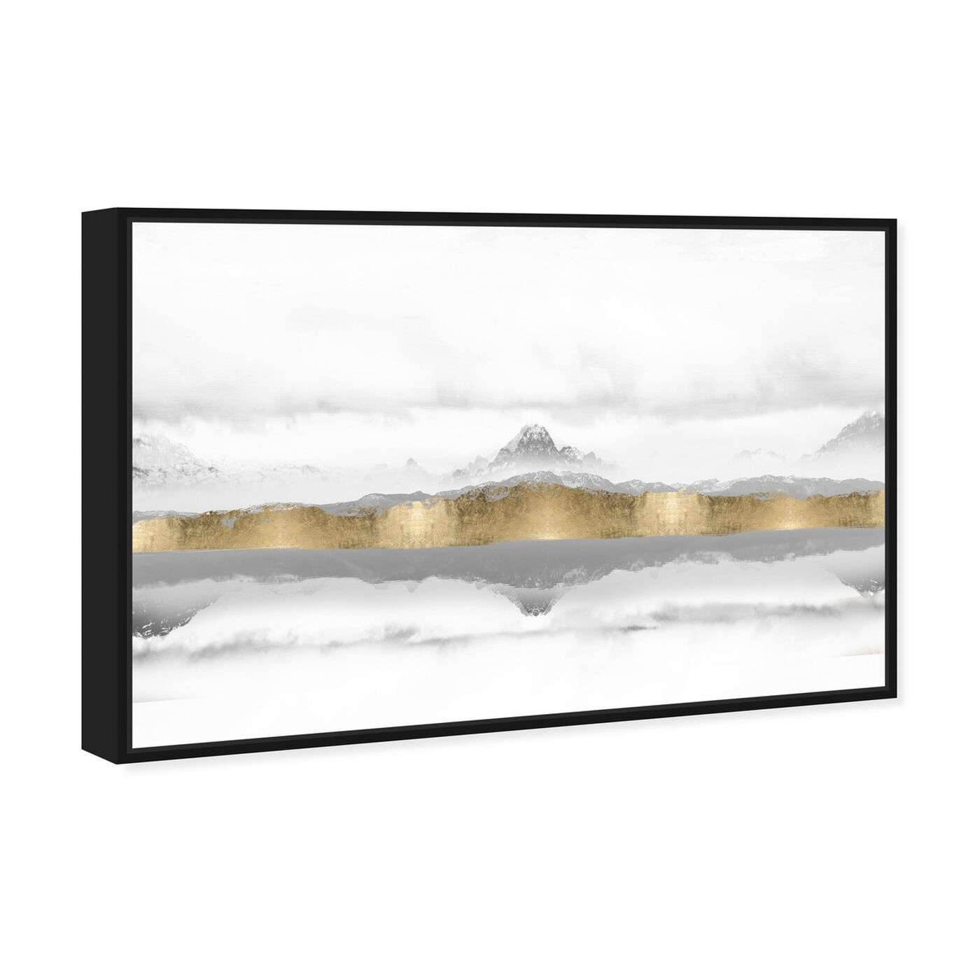 Angled view of Mountain of the Heart featuring abstract and textures art.