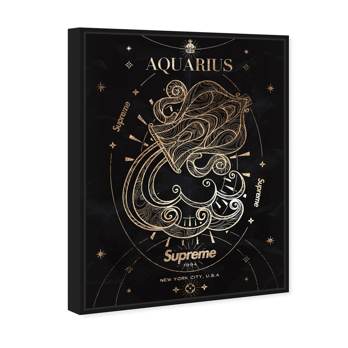 Angled view of Mémoire d'un Aquarius featuring fashion and glam and lifestyle art.